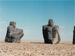 Sculptures in the desert